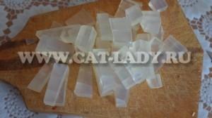 нарезание мыльной основы